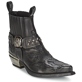 Παπούτσια Γυναίκα Μπότες New Rock PRETO Black