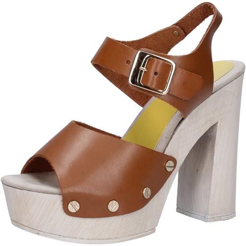 Παπούτσια Γυναίκα Σανδάλια / Πέδιλα Suky Brand Σανδάλια AC482 καφέ