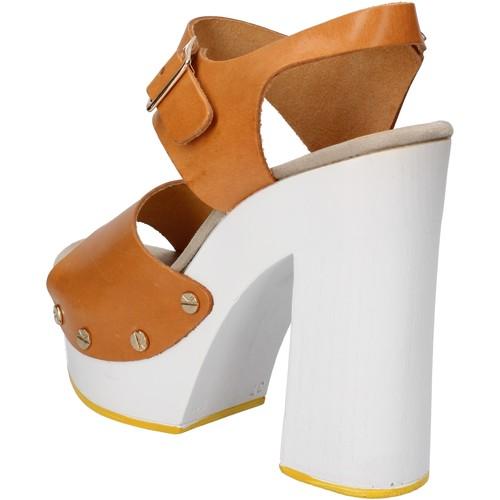 Παπούτσια Γυναίκα Σανδάλια / Πέδιλα Suky Brand Σανδάλια AC485 καφέ