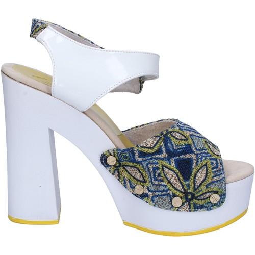 Παπούτσια Γυναίκα Σανδάλια / Πέδιλα Suky Brand Σανδάλια AC487 λευκό