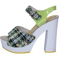 Παπούτσια Γυναίκα Σανδάλια / Πέδιλα Suky Brand AC488 πράσινος