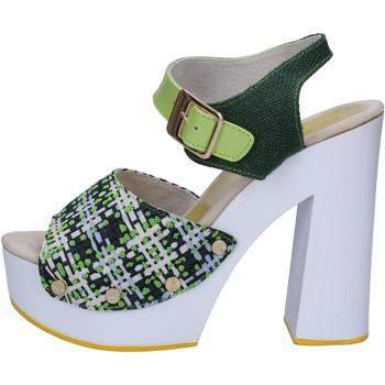 Παπούτσια Γυναίκα Σανδάλια / Πέδιλα Suky Brand AC489 πράσινος