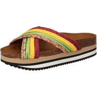 Παπούτσια Γυναίκα σαγιονάρες 5 Pro Ject Σανδάλια AC589 πράσινος