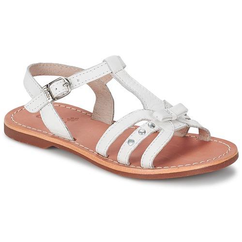 Παπούτσια Κορίτσι Σανδάλια / Πέδιλα Aster VALENTINA άσπρο