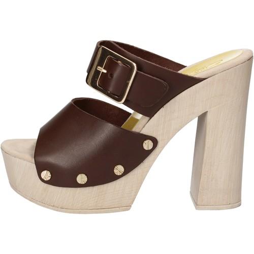 Παπούτσια Γυναίκα Σανδάλια / Πέδιλα Suky Brand Σανδάλια AC765 καφέ