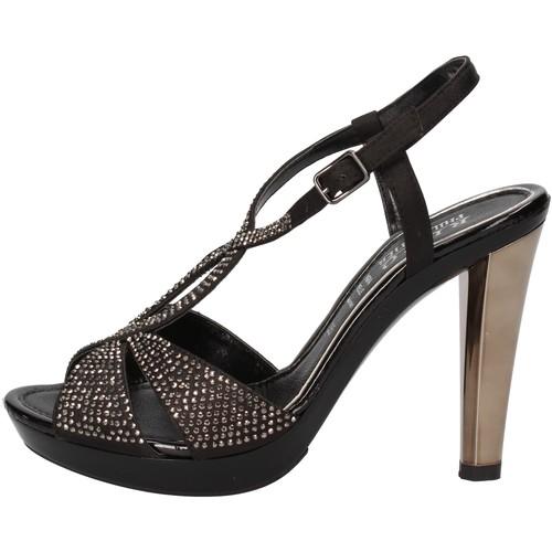 Παπούτσια Γυναίκα Σανδάλια / Πέδιλα Phil Gatiér Σανδάλια AC791 Μαύρος