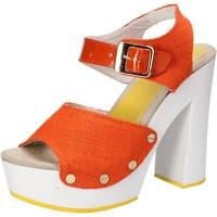 Παπούτσια Γυναίκα Σανδάλια / Πέδιλα Suky Brand AC802 Πορτοκάλι