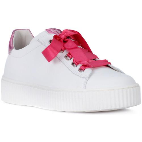Παπούτσια Κορίτσι Χαμηλά Sneakers NeroGiardini NERO GIARDINI  MANAUS BIANCO Bianco