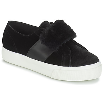 Παπούτσια Γυναίκα Χαμηλά Sneakers Superga 2750-LEAPATENTW Black