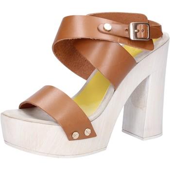 Παπούτσια Γυναίκα Σανδάλια / Πέδιλα Suky Brand AC816 καφέ