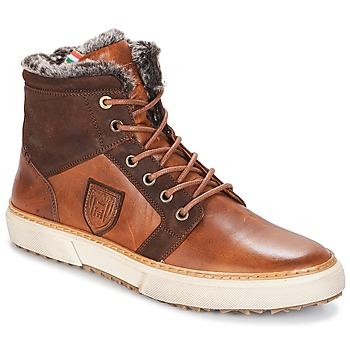 Παπούτσια Άνδρας Ψηλά Sneakers Pantofola d'Oro BENEVENTO UOMO FUR MID Brown