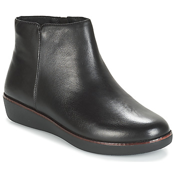 Παπούτσια Γυναίκα Μπότες FitFlop ZIGGY ZIP Black