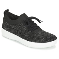 Παπούτσια Γυναίκα Χαμηλά Sneakers FitFlop F SPORTY UBERKNIT SNEAKERS CRYSTAL Black