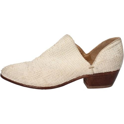 Παπούτσια Γυναίκα Μποτίνια Moma Μπότες αστραγάλου AD88 λευκό
