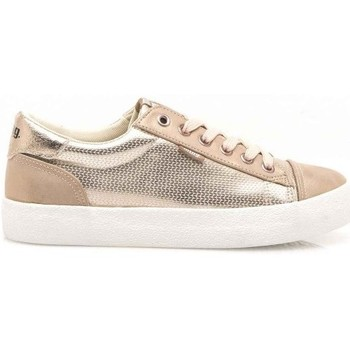 Παπούτσια Γυναίκα Χαμηλά Sneakers MTNG ZAPATILLAS MUJER 69239-C39077-GOLDEN CITY METAL PINK CRACK MATE ROSA