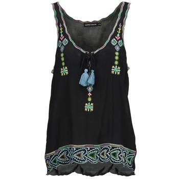 Υφασμάτινα Γυναίκα Αμάνικα / T-shirts χωρίς μανίκια Antik Batik SANAH Black