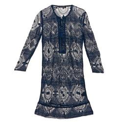 Υφασμάτινα Γυναίκα Κοντά Φορέματα Antik Batik LEANE Marine