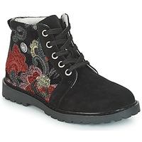 Παπούτσια Κορίτσι Μπότες Catimini CAHAUT Black