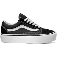Παπούτσια Γυναίκα Χαμηλά Sneakers Vans ZAPATILLAS OLD SKOOL DE PLATAFORMA NEGRO