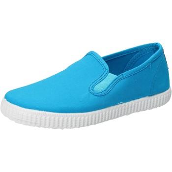 Παπούτσια Αγόρι Slip on Cienta AD780 Τουρκουάζ