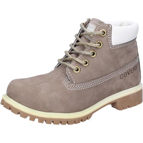 Παπούτσια Αγόρι Μπότες Enrico Coveri Μπότες αστραγάλου AD831 Γκρί