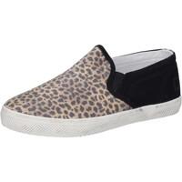 Παπούτσια Κορίτσι Slip on Date AD837 Μαύρος