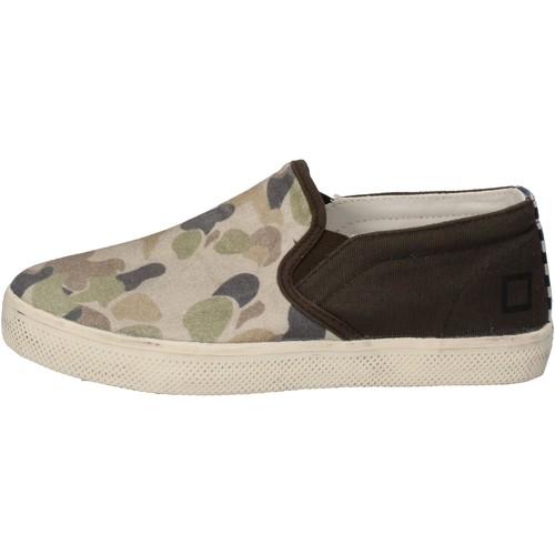 Παπούτσια Αγόρι Slip on Date Αθλητικά AD846 πράσινος