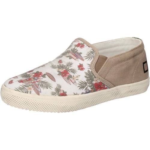 Παπούτσια Κορίτσι Slip on Date Αθλητικά AD848 λευκό