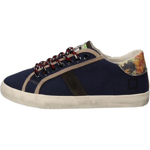 Παπούτσια Κορίτσι Χαμηλά Sneakers Date Αθλητικά AD862 Μπλε