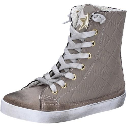 Παπούτσια Κορίτσι Ψηλά Sneakers 2 Stars Αθλητικά AD888 Μπεζ