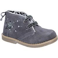 Παπούτσια Κορίτσι Μποτίνια Didiblu polacchini grigio camoscio AD979 Grigio