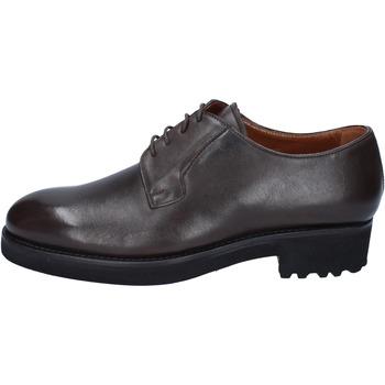 Παπούτσια Άνδρας Derby Alexander BY450 καφέ