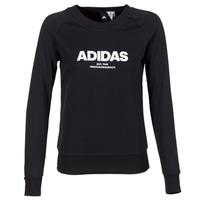 Υφασμάτινα Γυναίκα Φούτερ adidas Originals ESS ALLCAP SWT Black