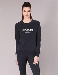 Υφασμάτινα Γυναίκα Φούτερ adidas Performance ESS ALLCAP SWT Black