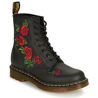 Παπούτσια Γυναίκα Μπότες Dr Martens 1460 VONDA Black