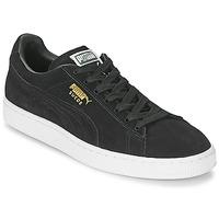 Παπούτσια Άνδρας Χαμηλά Sneakers Puma SUEDE CLASSIC Black
