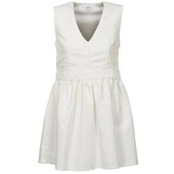 Υφασμάτινα Γυναίκα Κοντά Φορέματα Suncoo CAGLIARI Άσπρο