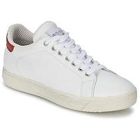 Παπούτσια Γυναίκα Χαμηλά Sneakers Meline AIMEE άσπρο / Red