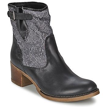 Παπούτσια Γυναίκα Μποτίνια Meline ALESSANDRA Black