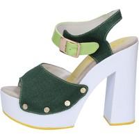 Παπούτσια Γυναίκα Σανδάλια / Πέδιλα Suky Brand AB314 πράσινος