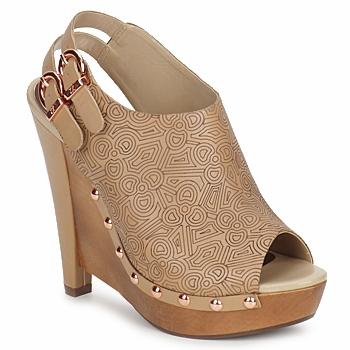 Παπούτσια Γυναίκα Σαμπό Zandra Rhodes BROWNWYN Sable