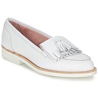 Παπούτσια Γυναίκα Μοκασσίνια Elia B ALPHA Ασπρό