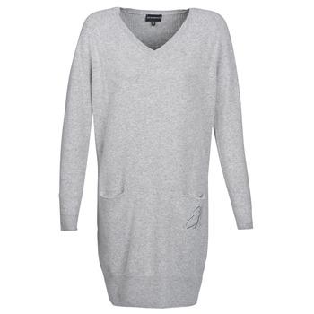 Υφασμάτινα Γυναίκα Κοντά Φορέματα Emporio Armani CROWA Grey