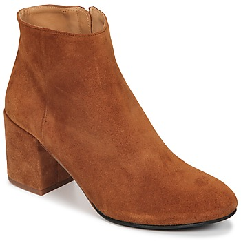 Παπούτσια Γυναίκα Μποτίνια Emma Go ELNA Cognac
