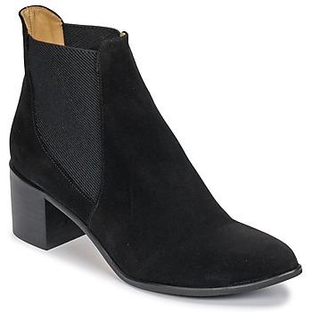 Παπούτσια Γυναίκα Μποτίνια Emma Go GUNNAR Black