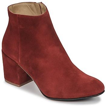 Παπούτσια Γυναίκα Μποτίνια Emma Go ELNA Red
