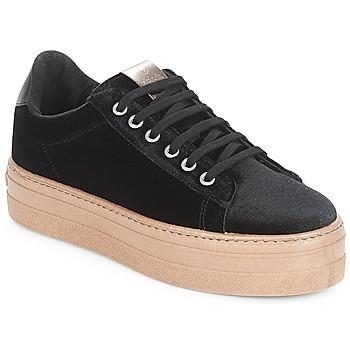 Παπούτσια Γυναίκα Χαμηλά Sneakers Victoria DEPORTIVO TERCIOPELO/CARAM Black