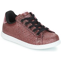 Παπούτσια Κορίτσι Χαμηλά Sneakers Victoria DEPORTIVO METAL CREMALLERA Ροζ