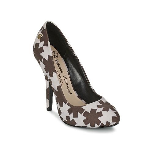Παπούτσια Γυναίκα Γόβες Vivienne Westwood MAGGIE II Black / Άσπρο