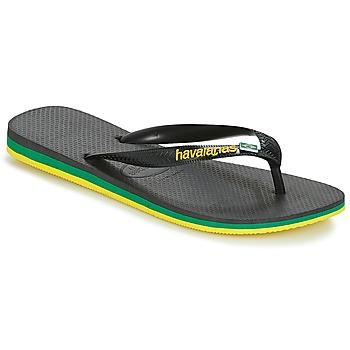 Παπούτσια Άνδρας Σαγιονάρες Havaianas Brasil Layers Black